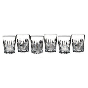 Waterford Crystal Lismore Diamond Double Old Fashioned Glasses, Set of