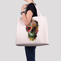 Skull 2 Beach / Tote Bag