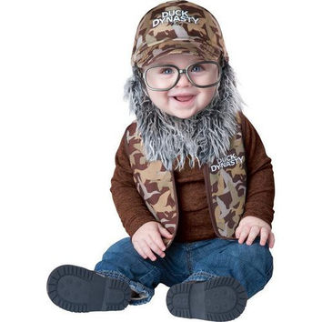 Infant Boy's Costume: Duck Dynasty Baby Uncle Si | 12M-18M