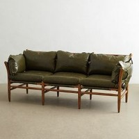 Patrizia Sofa by Anthropologie Green One Size Furniture