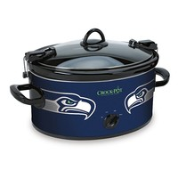 Crock-Pot Seattle Seahawks 6-qt. NFL Cook & Carry Slow Cooker