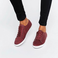 Fred Perry Kingston Twill Port Trainers at asos.com