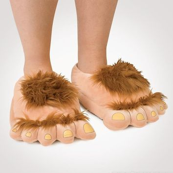 Bigfoot Cotton Slipper Shoes