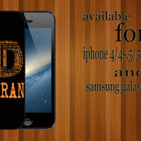ed sheeran custom design hard plastic available for iphone 4/4s,5/5s/5c and samsung galaxy S3/S4/S5 case