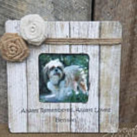 Personalized pet frame dog picture frame pet memorial cat frame dog memorial remembrance gifts pet loss gifts