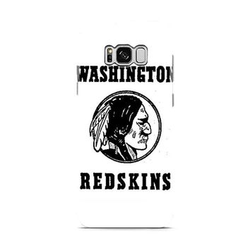 washington redskins logo black and white 2 Samsung Galaxy S8 | Galaxy S8 Plus case