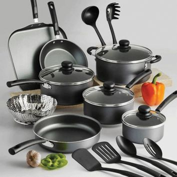 Tramontina Nonstick 18 Piece Cookware Set Pots & Pans  Kitchenware Cooking NEW