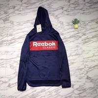 Reebok Woman Men Fashion Hoodie Top Sweater Pullover-1
