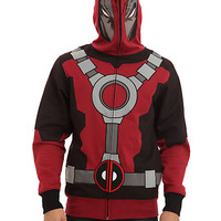 Marvel Universe Deadpool Full Zip Hoodie