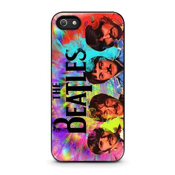 THE BEATLES 4 iPhone 5 / 5S / SE Case Cover