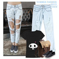 Women's Fashion Denim = 4815113348