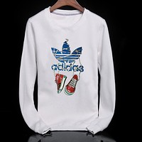 Trendsetter Adidas Women Men Casual Sport Top Sweater Pullover