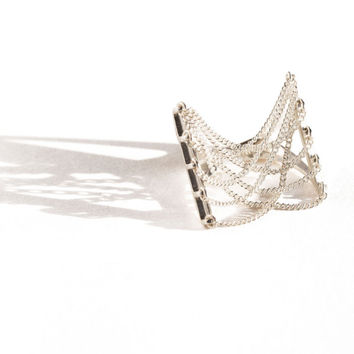 Bliss Lau - Silver Suspension Ring | BONA DRAG