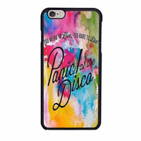 panic at the disco watercolor iphone 6 6s 4 4s 5 5s 5c cases