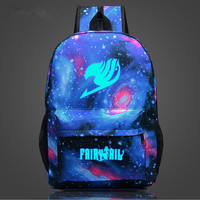 Fairy Tail Galaxy Print Backpack