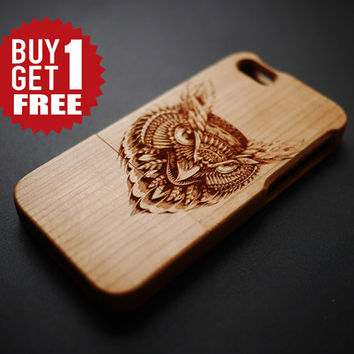 Eagle Cherry Wood  iPhone 5 / 5s Case - Wooden iPhone 5 / 5s Case - iPhone 5 / 5s Case Wood - Wood iPhone 5 / 5s Case - iPhone5 Case