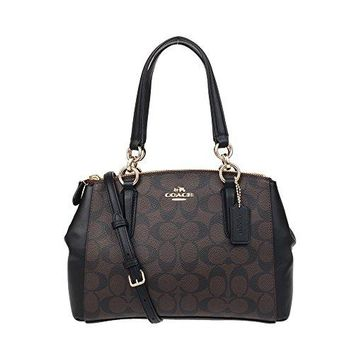 Coach Mini Christie Carryall In Signature  COACH bag