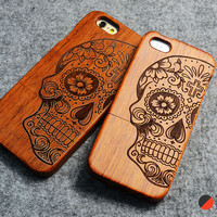 Wood Case For iPhone + Free Screen