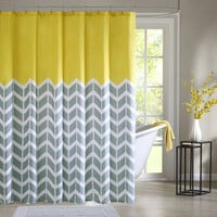 Intelligent Design Nadia Shower Curtain|Designer Living