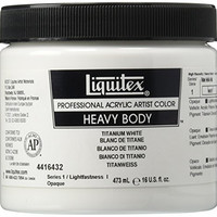Liquitex Professional Heavy Body Acrylic Paint 6.76-oz tube, Titanium White