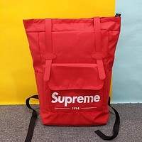 Supreme Woman Men Fashion Backpack Bookbag Shoulder Bag