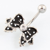 Bow Belly button ring