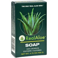 Real Aloe Aloe Vera Bar Soap - 4.75 Oz