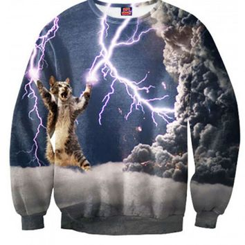 Thunder Cat Crewneck