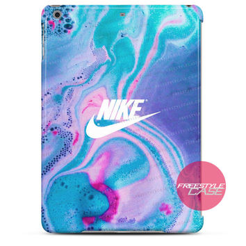 Nike Just Do It Water Marble Pastel iPad Case 2, 3, 4, Air, Mini Cover