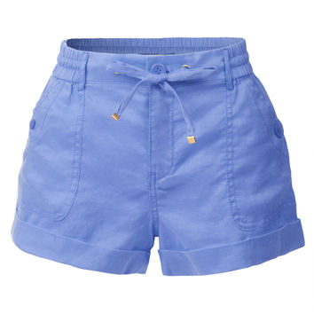 Casual Loose Pleated Shorts with Elastic Waist (CLEARANCE)