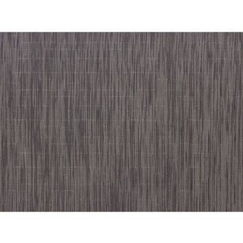 CHILEWICH Bamboo Rectangular Placemats S/4  | Grey Flannel
