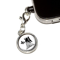 Virgo The Maiden Zodiac Horoscope Mobile Phone Charm