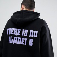 Weekday Big Hawk Planet B Hoodie at asos.com