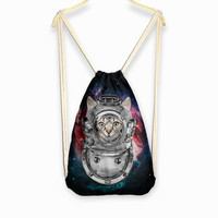 Back To School On Sale College Stylish Hot Deal Comfort Black Cats Print Casual Backpack [6050340353]
