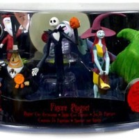 Disney Tim Burton's The Nightmare Before Christmas Figure Play Set -- 7-Pc.