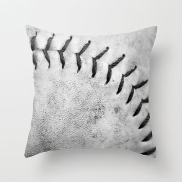 Softball. Unisex Sports Decor, Softball Pillow Cover, Ball Game. Baseball