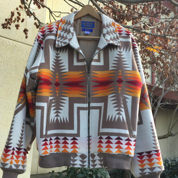 Vintage Pendleton, Pendleton Jacket, Vintage Coat, Pendleton Chief Joseph Jacket, Large Pendleton Jacket, Southwestern Clothing