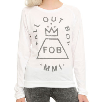 Fall Out Boy MMI Girls Long-Sleeved T-Shirt