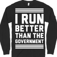 Black T-Shirt | Funny Workout Running Shirts