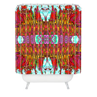 Ingrid Padilla Charisma Pink Shower Curtain