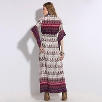 Violet Valentines Spell Maxi Dress