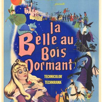 Sleeping Beauty (Foreign) 11x17 Movie Poster (1959)