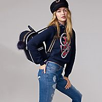 Cotton Anchor Sweatshirt Gigi Hadid | Tommy Hilfiger USA