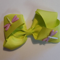 Loud Green Dragon Fly Bow