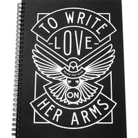 To Write Love on Her Arms Official Online Store - Dove Notebook