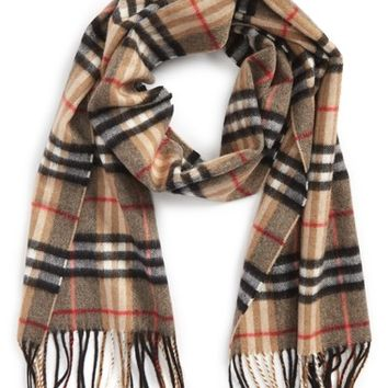 Burberry Castleford Check Cashmere Scarf | Nordstrom
