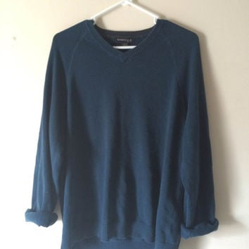 Soft Deep Green Vintage Sweater