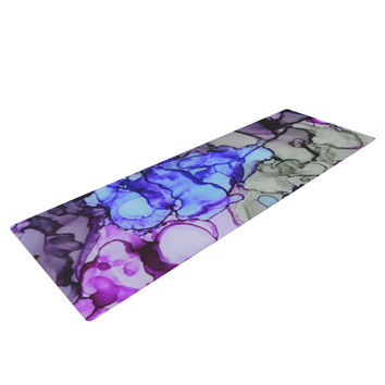 "Claire Day ""String Theory"" Yoga Mat"