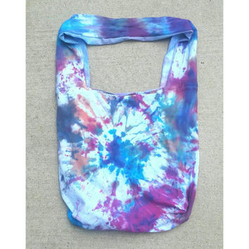 Girls tie dye shoulder bag, tie dye purse, tie dye shoulder bag, colorful purse, hippie inspired, tie dye, girls purses, girls handbag