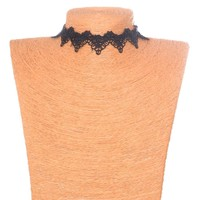 Forever21 Shiny Jewelry Lace Chain Handcrafts Design Choker [7786551431]